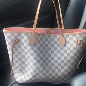 Handbags - Checkered tote